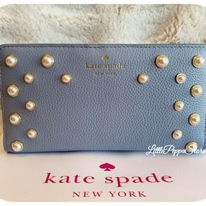 NWT KATE SPADE LEATHER SERRANO PLACE PEARL STACY W